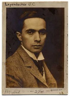 (1874-1951) was one of the prominent American illustrators of the early twentieth century. He is best known for his posters, illustrations of books and his many covers of The Saturday Evening Post magazine (between 1896 and 1950, Leyendecker paints more than 400 covers of magazines, including 322 for The Saturday Evening Post alone).