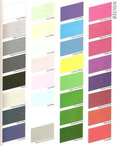 color me beautiful winter - Color Me Beautiful Book