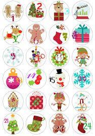 Resultado de imagen para etiquetas de navidad para regalos