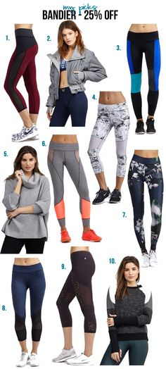 Bandier Fit activewear picks - on sale for #CyberMonday