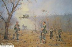 Here are some of my paintings of the Rhodesian Bush War. Cranston Fine Arts sells my prints but you can also get them from me direct. My first military paintings were done for the Rhodesian Light Infantry and the Battalion The Rhodesian African Rifles. Military Life, Military Art, Military History, American Revolutionary War, American Civil War, Civil War Photos, Cold War, World War I, Ancient History