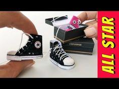 어떻게 바비 인형과 다른 인형에 대한 모든 스타 신발을 만들려면 - YouTube