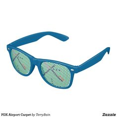 PDX Airport Carpet Wayfarer Sunglasses