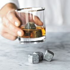 whisky stones - great gift. The husband LOVES them.