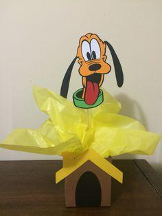 Centro de mesa Turma do Mickey - Pluto