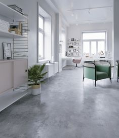 The following project is one of my last works. I was asked to create a calm workspace with natural, pastel color palette and brassed gold details. The project was made with 3ds max and Corona renderer.I hope you enjoy !