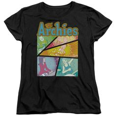 """Checkout our #LicensedGear products FREE SHIPPING + 10% OFF Coupon Code """"Official"""" Archie Comics / The Archies Colored-short Sleeve Women's Tee - Archie Comics / The Archies Colored-short Sleeve Women's Tee - Price: $29.99. Buy now at https://officiallylicensedgear.com/archie-comics-the-archies-colored-short-sleeve-women-s-tee"""