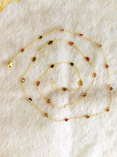 Tourmaline Necklace, 925 Silver, Gold Necklace, Jewellery, Bracelets, Gold Pendant Necklace, Jewels, Schmuck, Bracelet