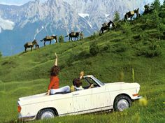 1960-1965 BMW 700 CONVERTIBLE - designed by Giovanni Michelotti of Turin.