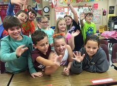 Kendra Girndt and her students Skyped with students in New Zealand - Hoo!