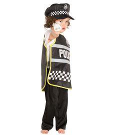 Buzzing Brains Fancy Dress Costume - Police Tabard | Kiddicare
