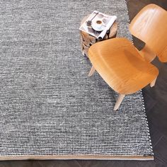 Pipoca recycled textile rug – Plum & Belle Hard Floor, Portuguese, Industrial Style, Hand Weaving, Recycling, Carpet, Textiles, Traditional, Rugs