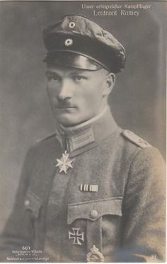 Leutnant Fritz Rumey (45 victories)