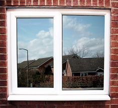 One way reflective window film. You see out, no one sees in.