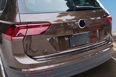 Vw Tiguan Ii Ad1 2016 Chrom Zierleiste Heckleiste Heckklappe Chromleiste Vehicles Car