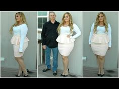 The Curvy Diaries: Date Night | Plus-Size OOTD - YouTube