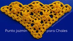 Crochet tutorial that teaches you how to do this surprising simple lacy flower stitch. All you need to know is how to do a TRC \ treble stitch! Love Crochet, Crochet Shawl, Crochet Lace, Crochet Stitches, Shawl Patterns, Lace Patterns, Crochet Patterns, Crochet Bikini Pattern, Crochet Videos