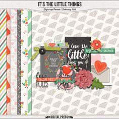 Quality DigiScrap Freebies: It's the Little Things mini kit freebie from The Digital Press
