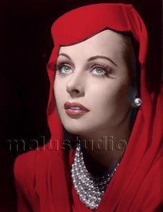 Hedy lamarr by aleahstewart201 on Pinterest | Hedy Lamarr, George ...