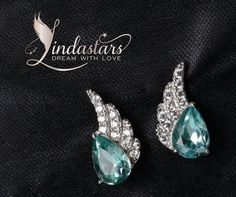 Wear Angel Wing Sky Blue #Earrings with your party attire or any evening gowns to accentuate your beauty with class. Accomplish the brilliance of this stunning earring with your feminine aura to reflect class and sophistication.   https://www.lindastars.com/collections/lindas-angels-earrings/products/angel-wing-sky-blue-earrings