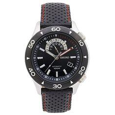 (セイコー) SEIKO Automatic Black Dial Men Watch 自動 黒 ダイヤル メンズウォッチ [並行輸入品] LUXTRIT