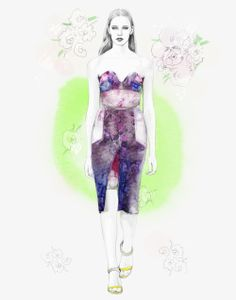 PREEN SS'13Illustrated by Candace Napier2013