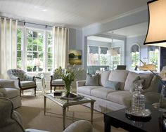 Living Room Navy Blue Accents Living Room Design, Pictures, Remodel, Decor and Ideas