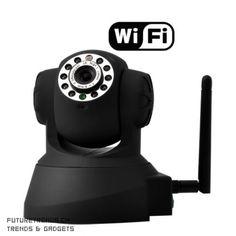 Steuerbare Indoor-WLAN-IP-Kamera mit Infrarot