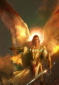 Y, a sus ángeles mandara cerca de ti, para que te guarden !!