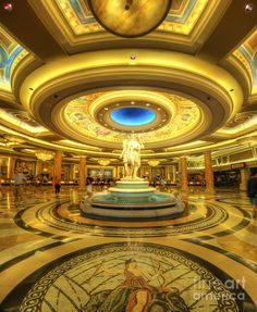 ✮ Caesar's Grand Lobby - Las Vegas, NV