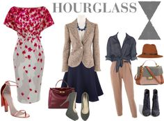 Clothes for the hourglass figure.