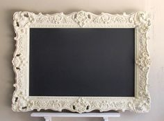 Country Vintage Distressed Decor Old World Chalk Board