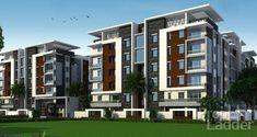 Residential Building Design, Architecture Building Design, Building Exterior, Facade Design, Residential Architecture, Exterior Design, Modern Architecture, Modern Family House, Modern House Facades