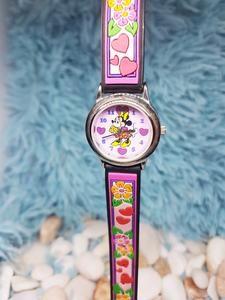 Rare Minnie Mouse Disney Watch For Women   Collectible Vintage Watch – Vintage Radar Vintage Disney, Vintage Pink, Minnie Mouse Watch, Walter Elias Disney, Walt Disney Company, Golden Globes, Disney Magic, Unique Colors, Vintage Watches