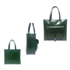 Bolso de cuero bolso de cuero negro bolso de por ArtLeatherDesign