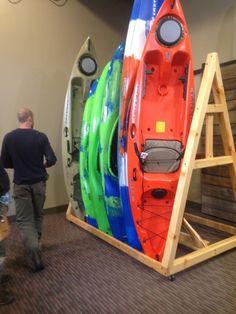 Kayak display rack