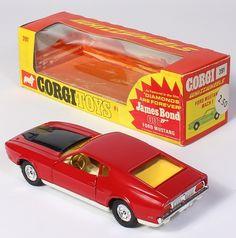 Corgi Toys 391 Ford Mustang James Bond movie car Diamonds are Forever