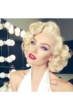 Candice Swanepoel transforms into Marilyn Monroe - click through to find out why