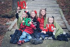 This Christmas photo prop says it all - HO HO HO! Capture the fun and excitement of your familys Christmas joy. This festive sign photo prop makes
