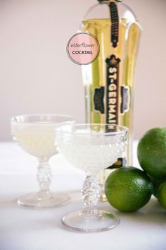 Elderflower Cocktail 1 part freshly squeezed lime juice 1 part St Germain liquor 1 part gin 1/2 part simple syrup