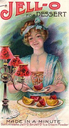 vintage Jell-O advertisement