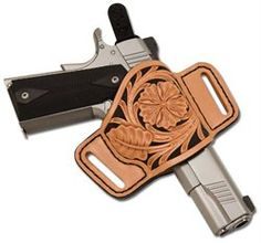 Popular among law enforcement and citizens with concealed handgun licenses, the Bullseye Minimal Holster Kit is designed to keep your pistol high on your waist and very snug against your body. Fits most large automatics. Kit includes pre-cut leather parts, safety loop, needle, thread, patterns and instructions.
