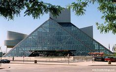 I.M. Pei, Rock and Roll Hall of Fame,  Cleveland, Ohio, 1998.