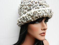 Crochet Hat  Tweed by Sewstacy on Etsy
