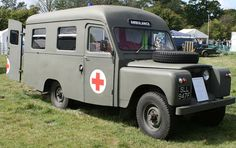 petrol Was in service with the RAF stationed in Lanarkshire untill Ambulance body by Herbert Lomas Ltd. Engine House, Counting Cars, Flying Car, Triumph Bonneville, Emergency Vehicles, Fire Engine, Station Wagon, Land Rover Defender, Military Vehicles