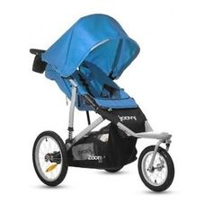 "This is a great jogging stroller with 16.1"" tire wheels, so you can actually run with it! It has a large sun canopy and steers very smoothly and effortlessly. It doesn't matter which of your children (1 yr old to 5 yrs old) are in the seat. It has a long seat-back, which accommodates taller toddlers up to 3ft tall."