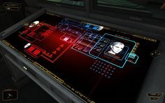 Deus Ex Human Revolution - User Interface on the Wacom Gallery
