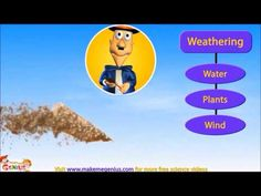 Weathering & Erosion -New Version for kids 4th Grade Science, Science Curriculum, Science Resources, Science Classroom, Science Lessons, Teaching Science, Science Education, Science Activities, Science Projects