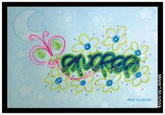 Manualidades Creativas - Galeria de Imagenes - Letras... - Lettering Styles, Doodles, Typography, Calligraphy, Letters, Birthday, Diy, Graphic Design, Frases
