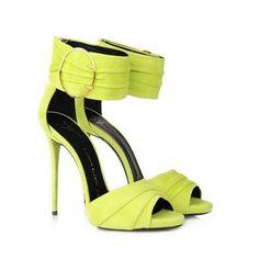 88c35da2c Giuseppe Zanotti on Wanelo Green Sandals